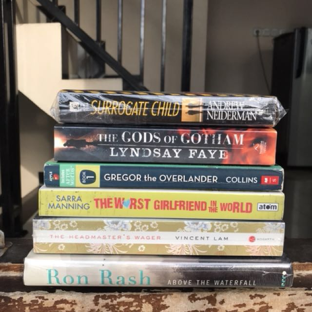 FREE BOOKS (just pay for shipping)