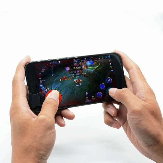 Game Joystick with free ring stent for mobile legends aov