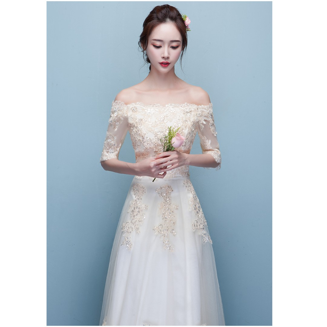 Amazing Simple And Elegant Wedding Dress Picture Collection - All ...