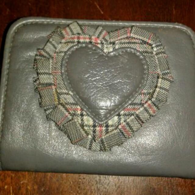Gray small wallet