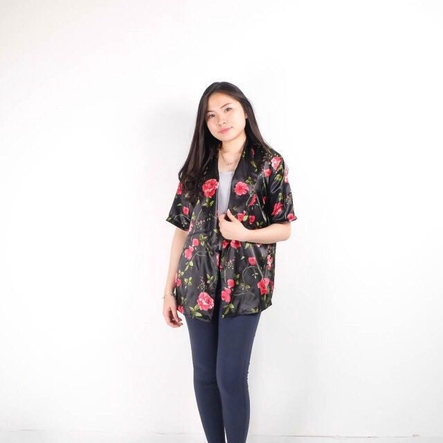 Grey Flower Outer