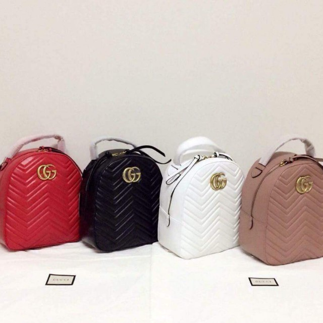 c98a4769bbf Gucci Marmont Backpack on Carousell