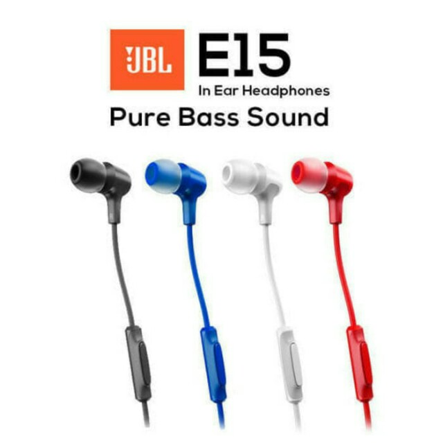 HEADPHONE/HANDFREE/HEADSET JBL E15