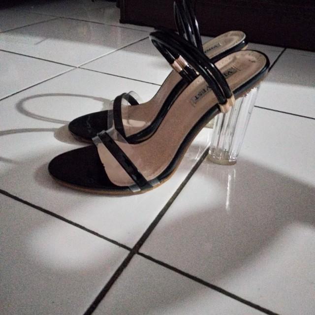 high heels transparan / high heels clear / high heels cinderella