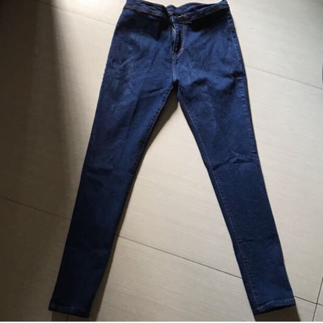 Highwaist jeans ukuran 27 stretch