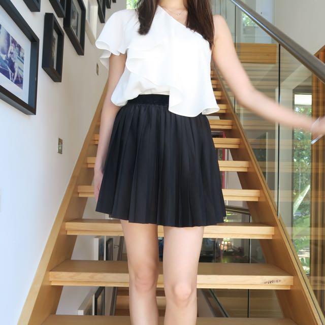 H&M Accordion Pleated Skirt XS