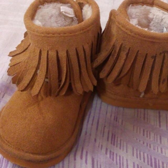 H&M Baby Fringe Boots