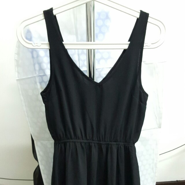 hnm mini black dress