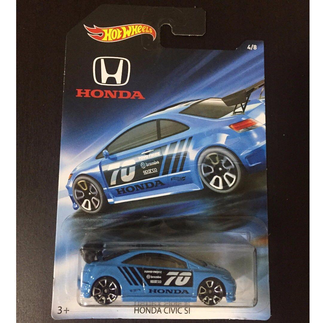 Hotwheels HW Hot Wheels Honda Series Honda Civic Si #CNY88, Toys & Games, Other Toys on Carousell