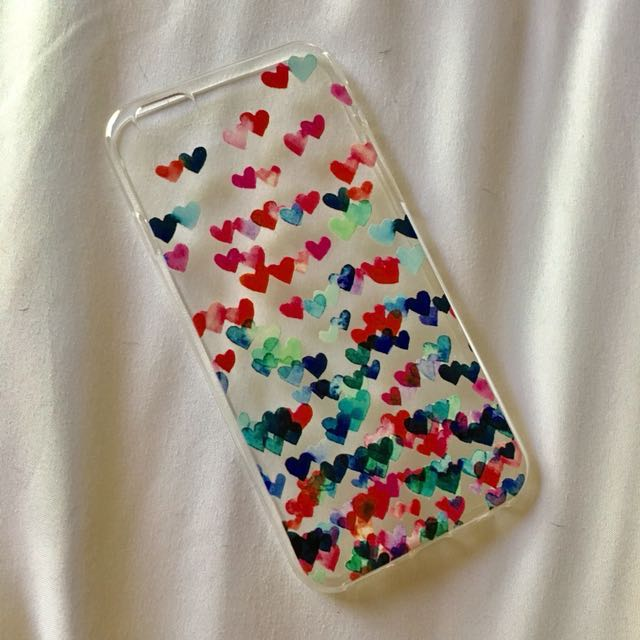 iPhone 6/6s Hearts Case