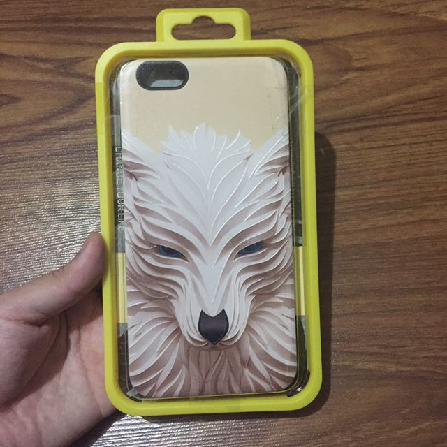 Iphone 6/6s Plus Casing (Wolf Design)
