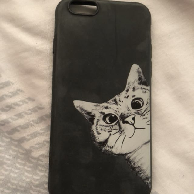 IPhone 6s Matte Cat design case