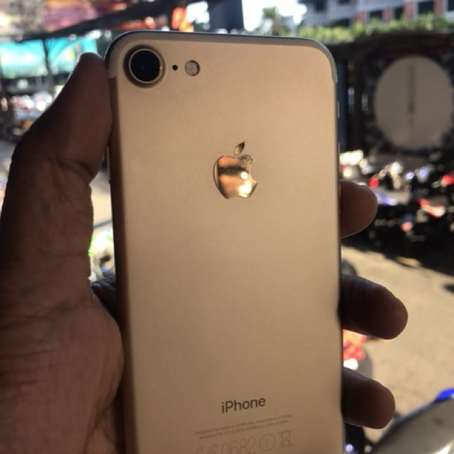 iphone 7 gold myset