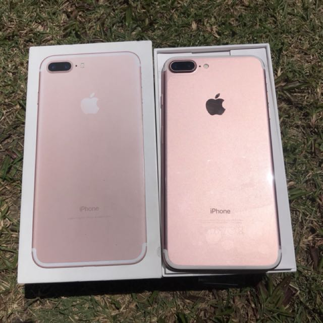iphone 7plus 256gb Rose MY