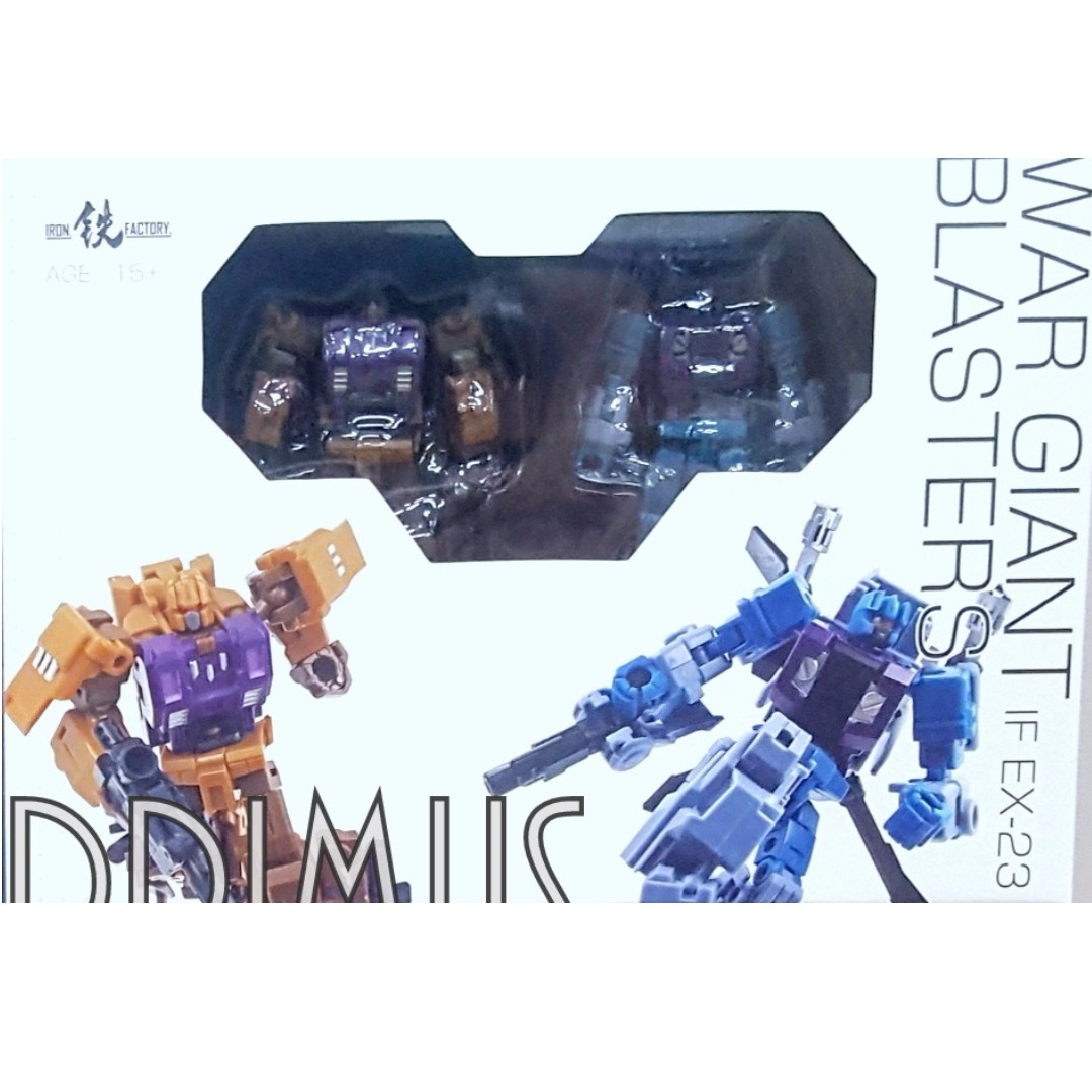 In Stock MISB Iron Factory Transformers IF EX-24 War Giant Commander