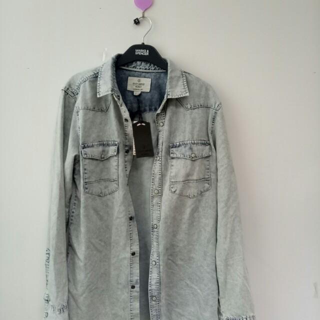 Jacket denim cotton on ori