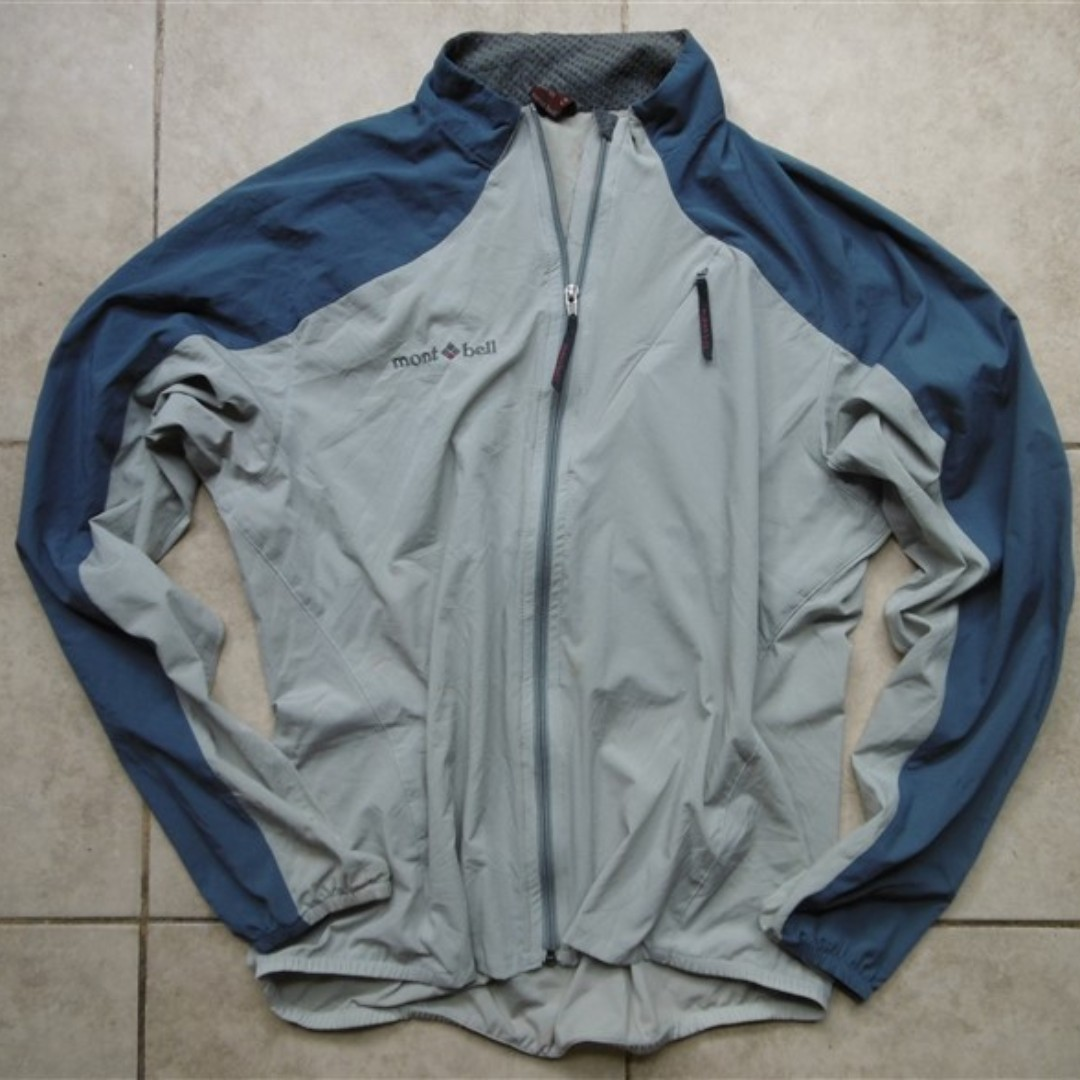 Jaket Outdoor MONTBELL Trail/Running/Cycling