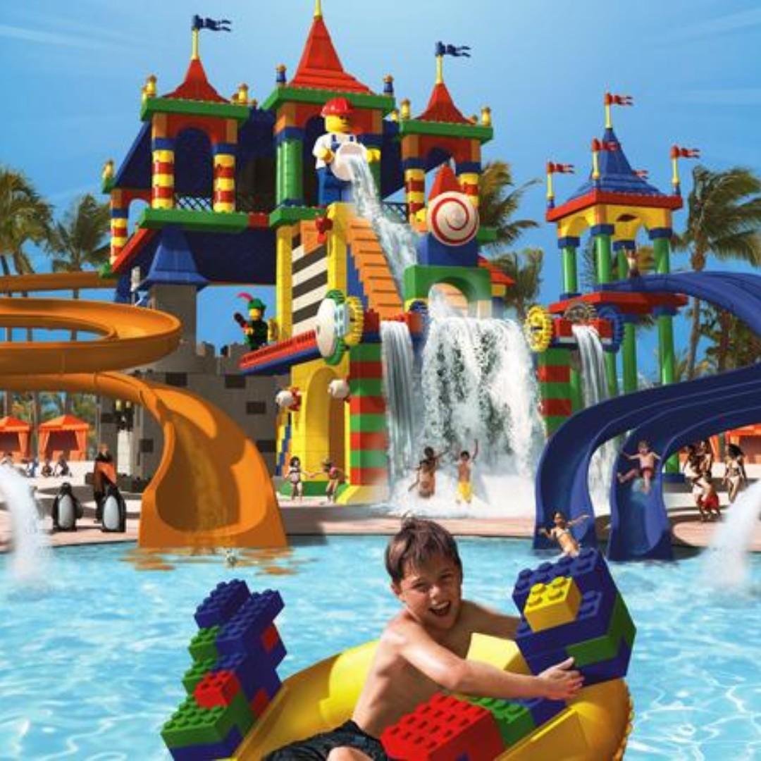 Johor Bahru - Legoland Waterpark + Themepark (1 Day Combo) - Adult