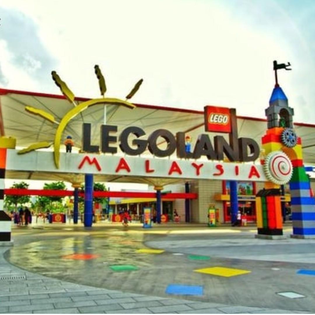 Johor Bahru - Legoland Waterpark + Themepark (2 Day Combo) - Adult