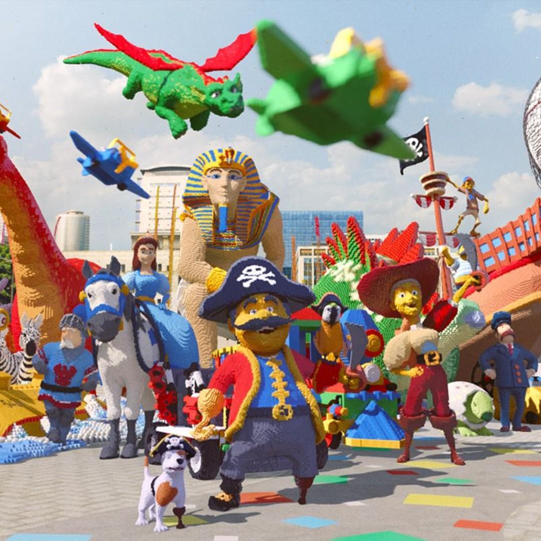 Johor Bahru - Legoland Waterpark + Themepark (2 Day Combo) - Child