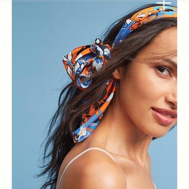 Joshipura floral Hair band/tie/ wrap
