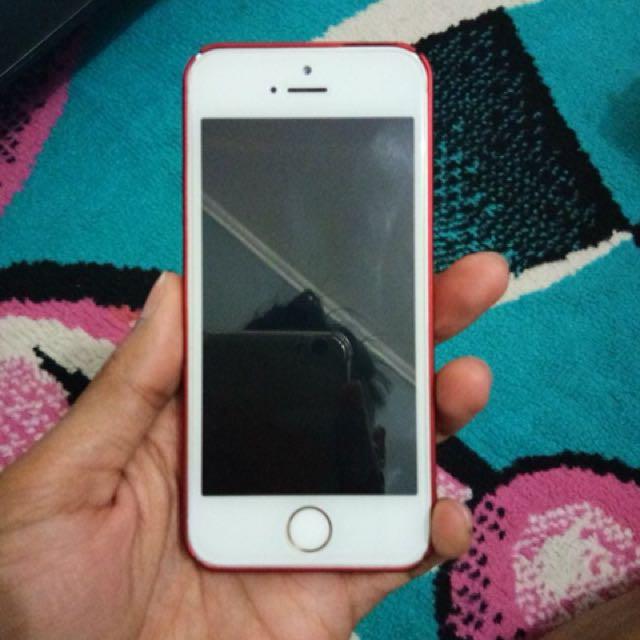 Jual iphone 5s gold 32