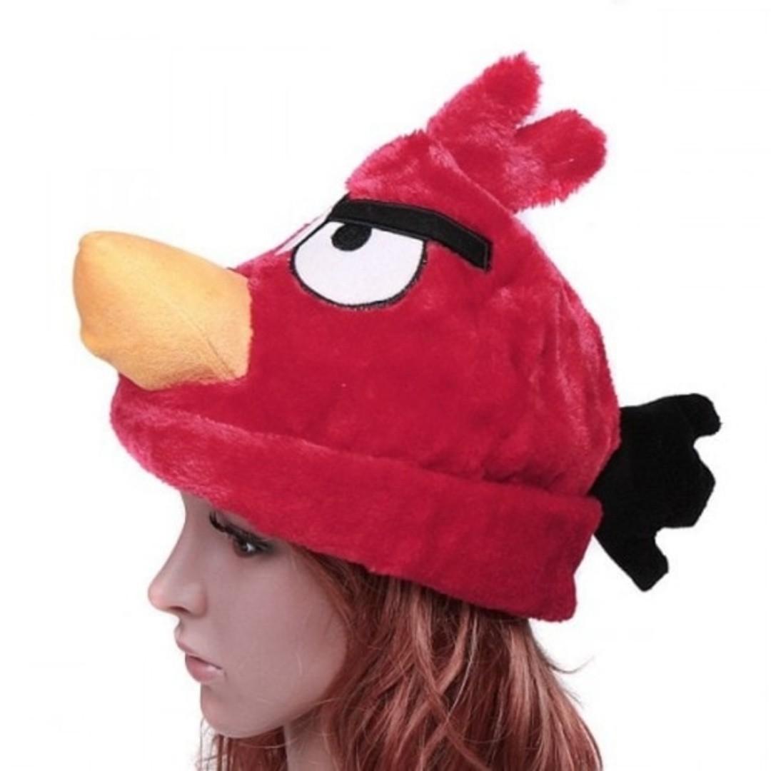 kado unik topi boneka angry bird