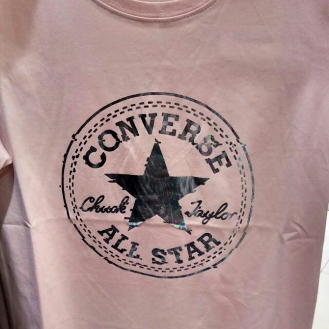 Kaos Converse Ori / Baju Converse Wanita Hologram