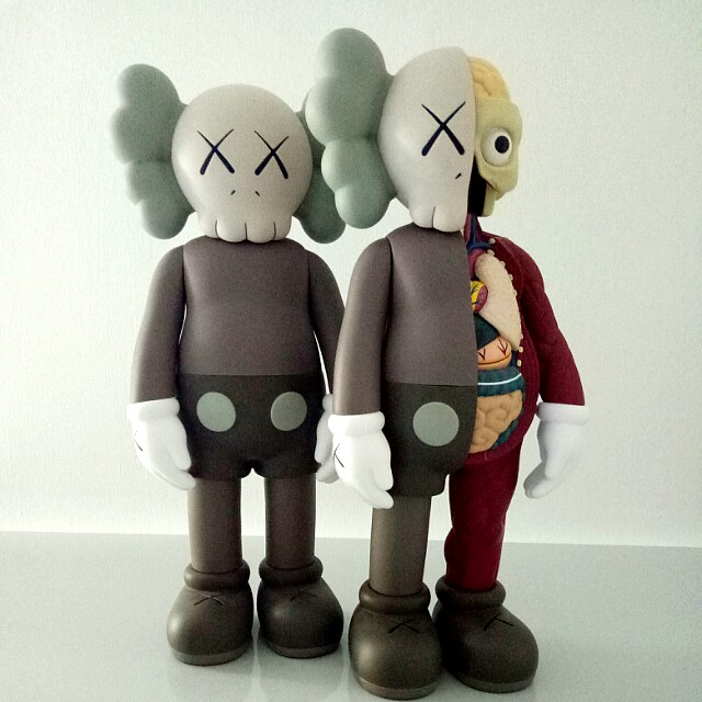 Kaws Companion Brown Toys Games Bricks Figurines On Carousell - Free invoicing tool kaws online store
