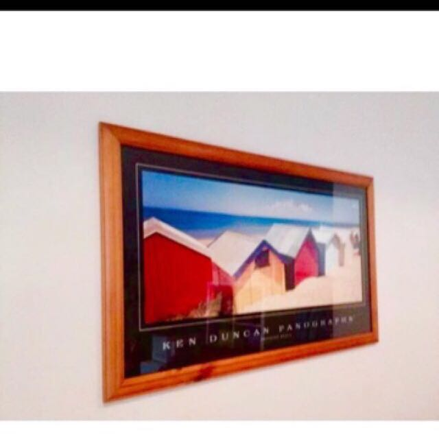Ken Duncan Panographs Framed Photo Photography Beach Boxes