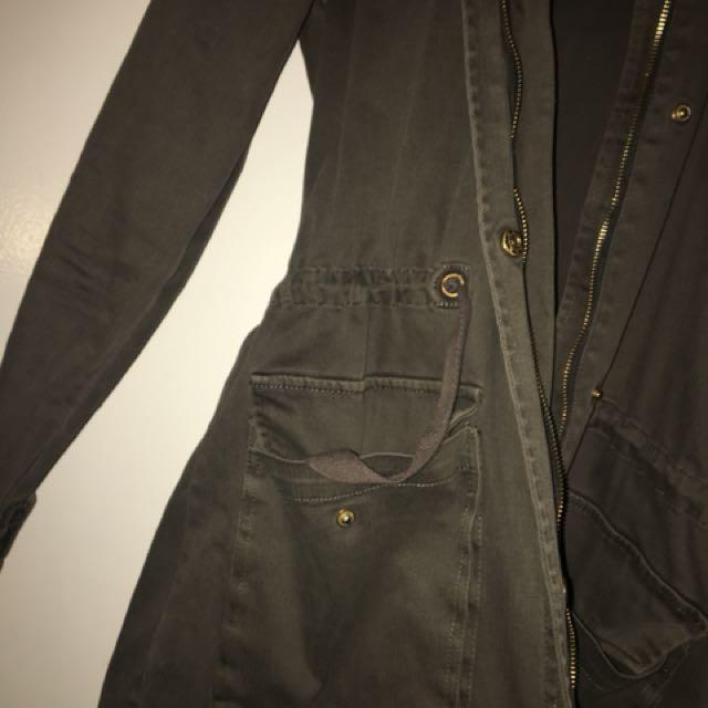 Khaki coat/jacket