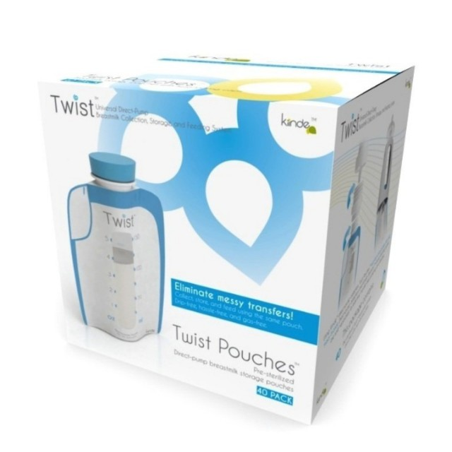 Kiinde Twist breastmilk pouches