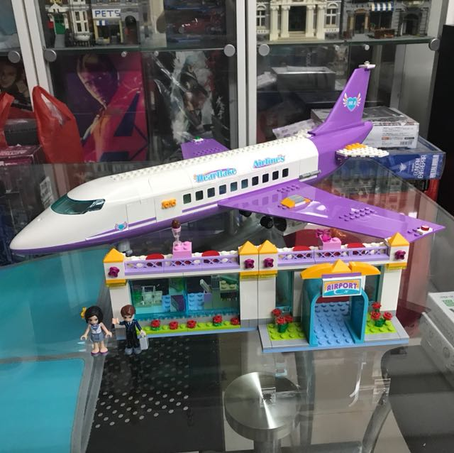 Lego Friends 41109 Heartlake Airport Toys Games Bricks