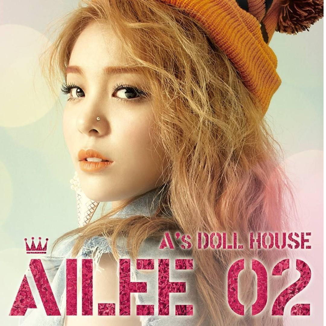 [LF} Ailee album- A's Doll House