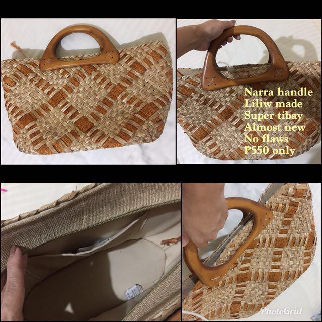 Liliw made bag
