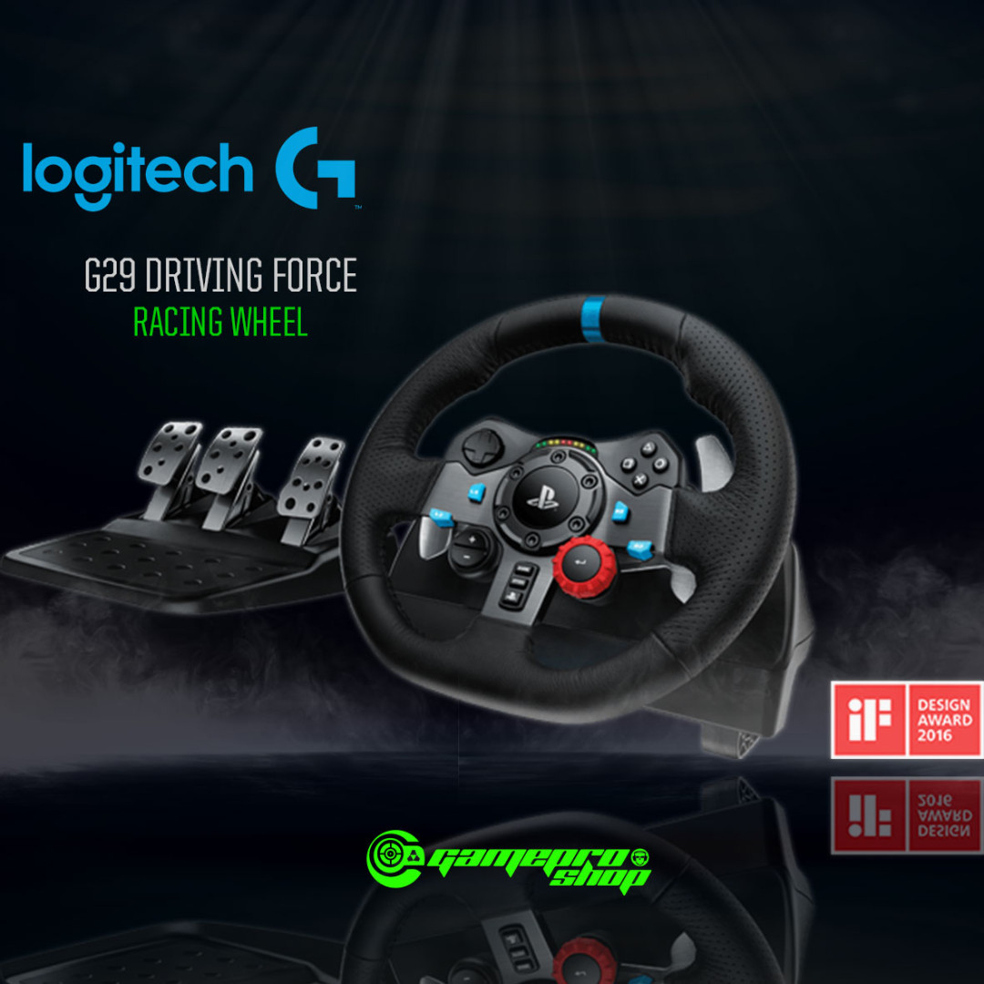 Logitech G29 Driving Force Racing Wheel for PC/PS4/PS3/MAC (941-000139)