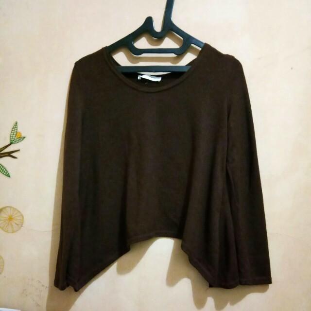 #CNY2018 Magnolia crop sweater