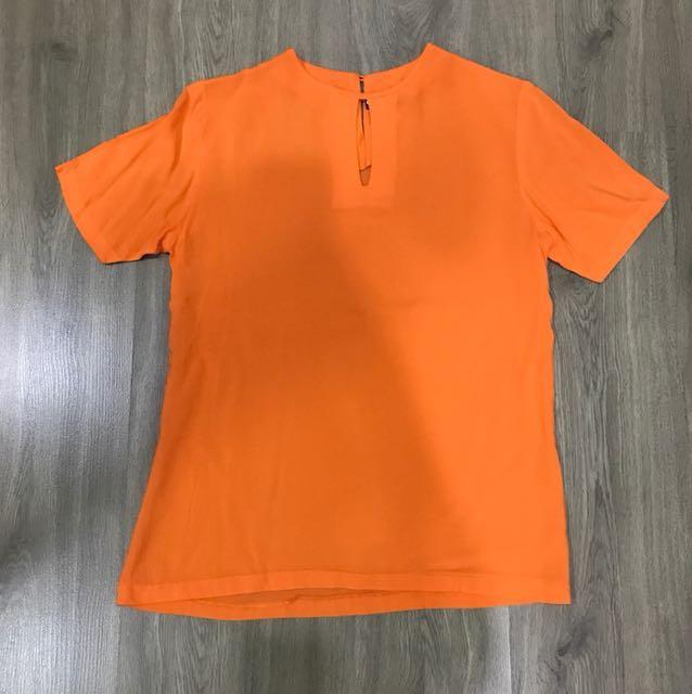 Marlan top orange