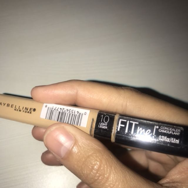 Maybelline Fit Me Concealer shades 10
