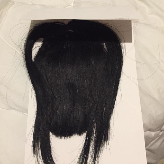 Medusa hair extensions fringe
