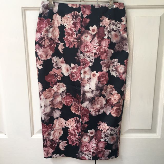 Miss Selfridge Midi Skirt