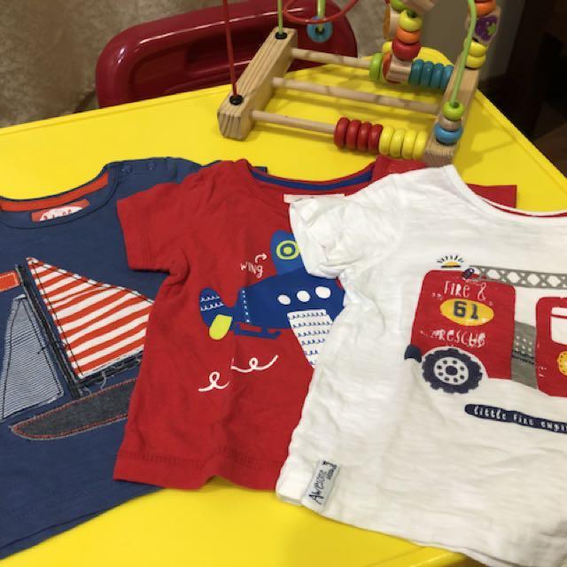 Mothercare Shirts 3pcs
