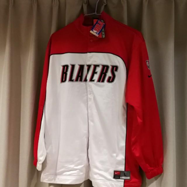 NBA BLAZDERS 熱身外套