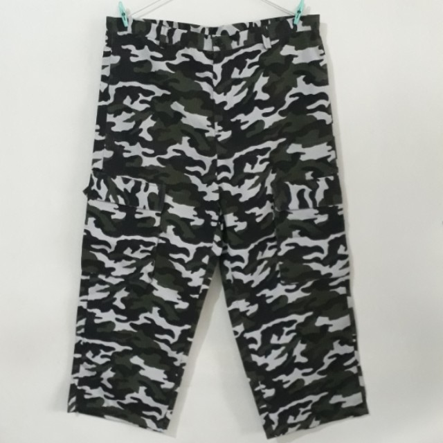 NEW CAMOUFLAGE PANTS 4 POCKETS