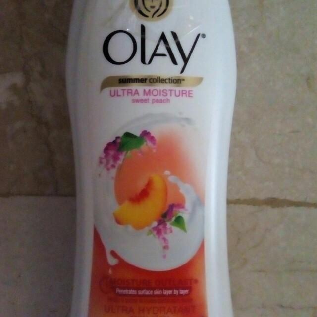 New Olay Sweet Peach Body Wash Limited Edition
