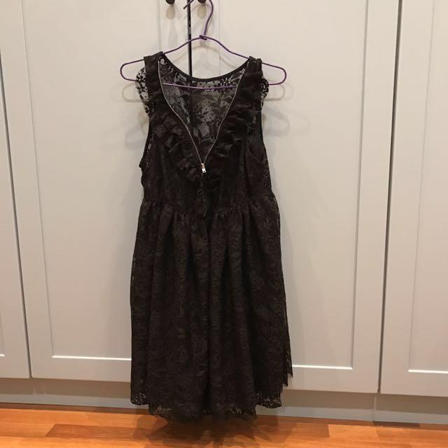 New Zara baby doll lace dress