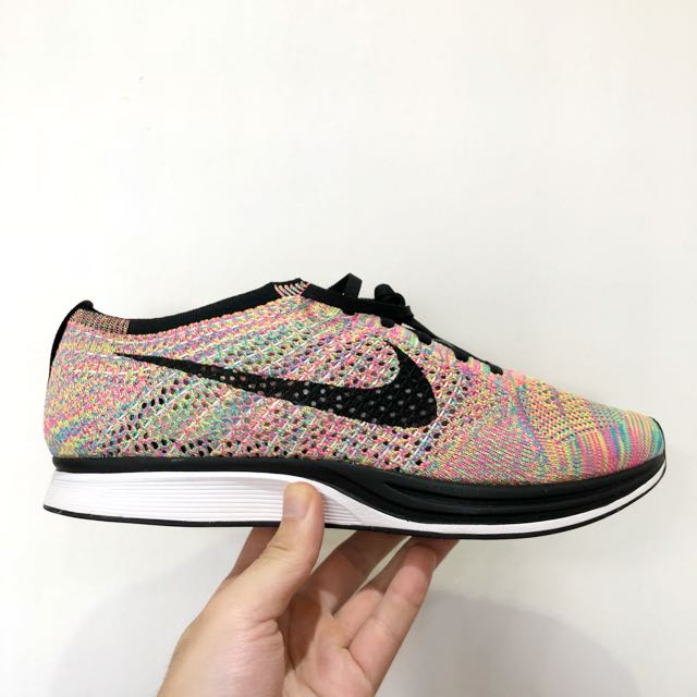 competitive price 341ae b07c6 Nike Flyknit Racer Multicolor 3.0, Men s Fashion, Footwear, Sneakers ...
