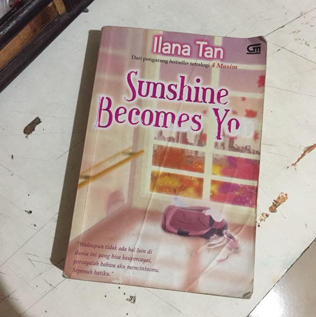 NOVEL SUNSHINE BECOMES YOU