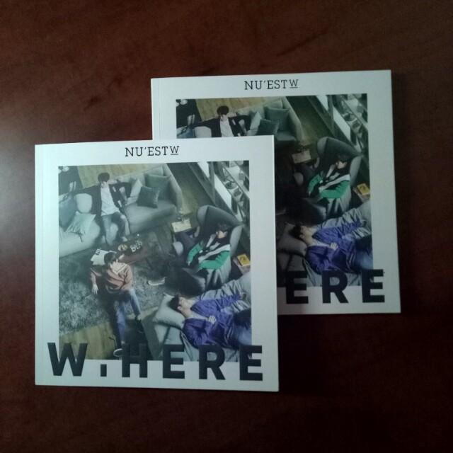 NU'EST-W W,here Album
