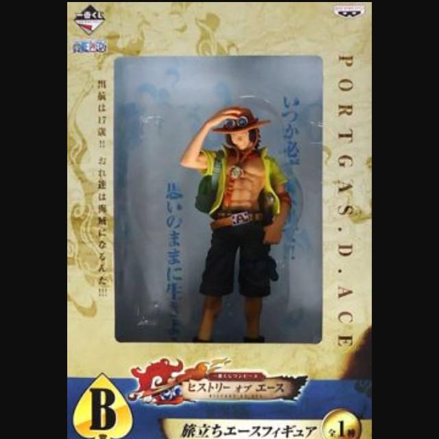 【動漫收藏】OnePiece 海賊王/航海王 艾斯歷史一番賞 B-ACE
